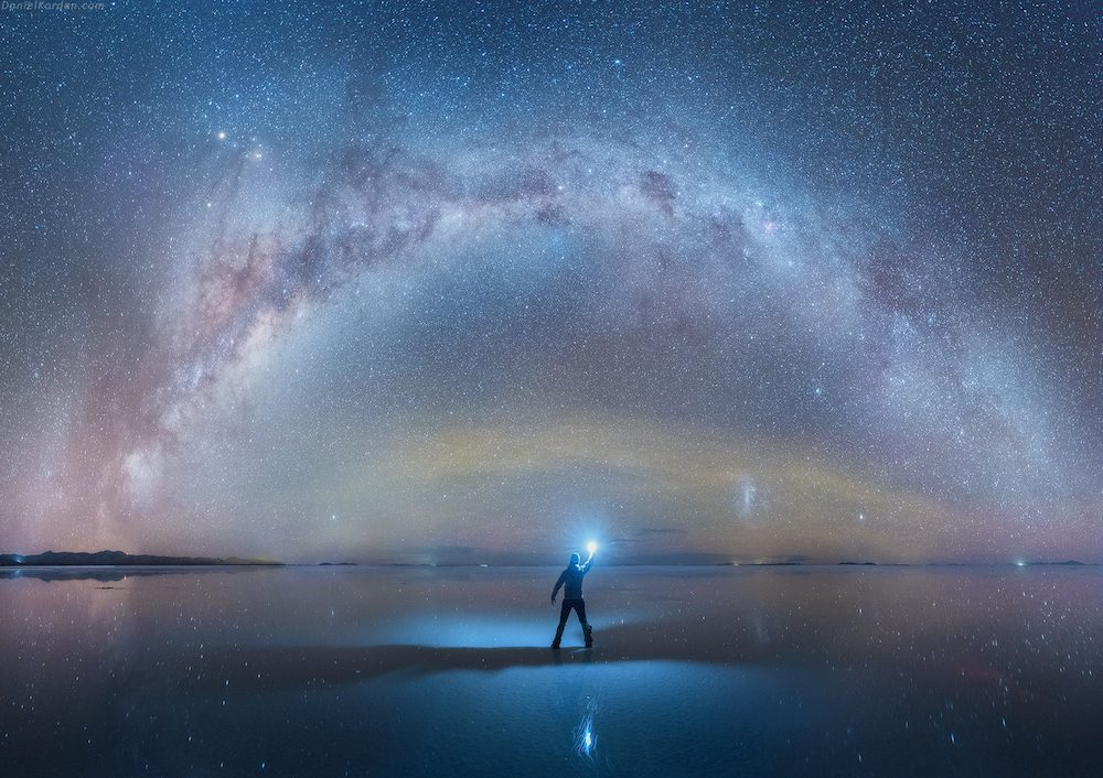 Salar De Uyuni And Milky Way Spectacular Photos Of Our Galaxy Mirrored In The Worlds Largest Salt Flat By Daniel Kordan 3