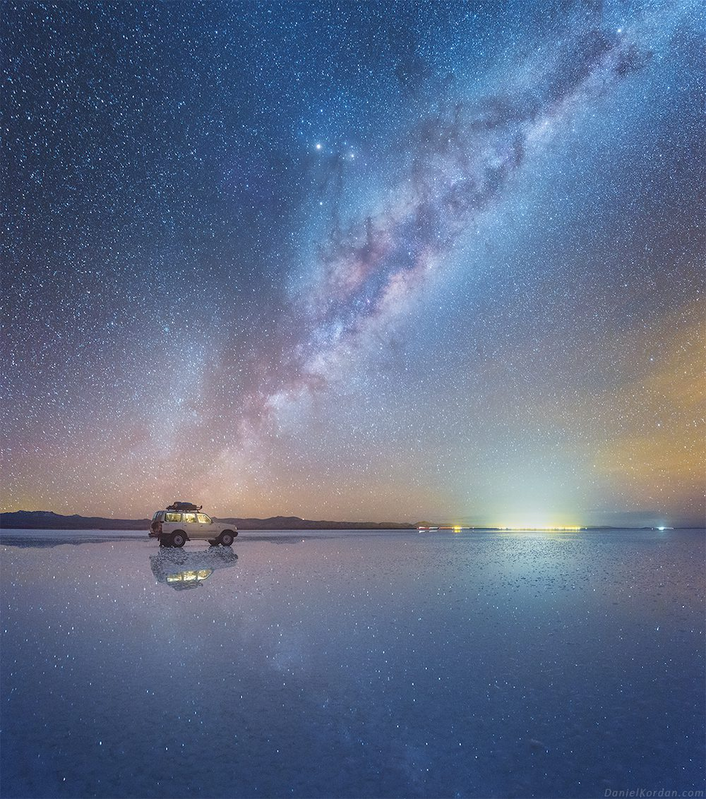 Salar De Uyuni And Milky Way Spectacular Photos Of Our Galaxy Mirrored In The Worlds Largest Salt Flat By Daniel Kordan 5