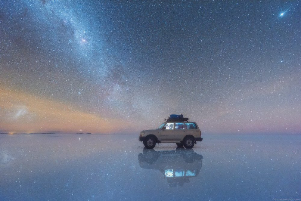 Salar De Uyuni And Milky Way Spectacular Photos Of Our Galaxy Mirrored In The Worlds Largest Salt Flat By Daniel Kordan 9
