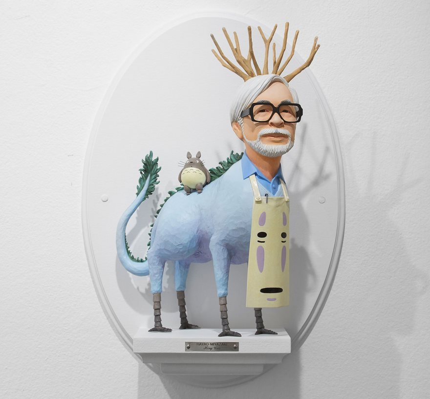 Sculptures Of Famous Film Directors Fused With Their Characters By Mike Leavitt 1