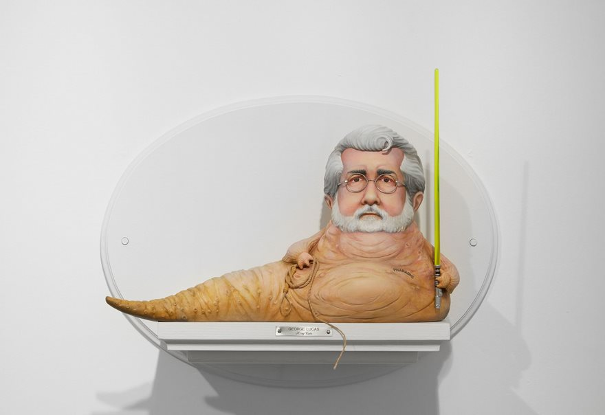Sculptures Of Famous Film Directors Fused With Their Characters By Mike Leavitt 3
