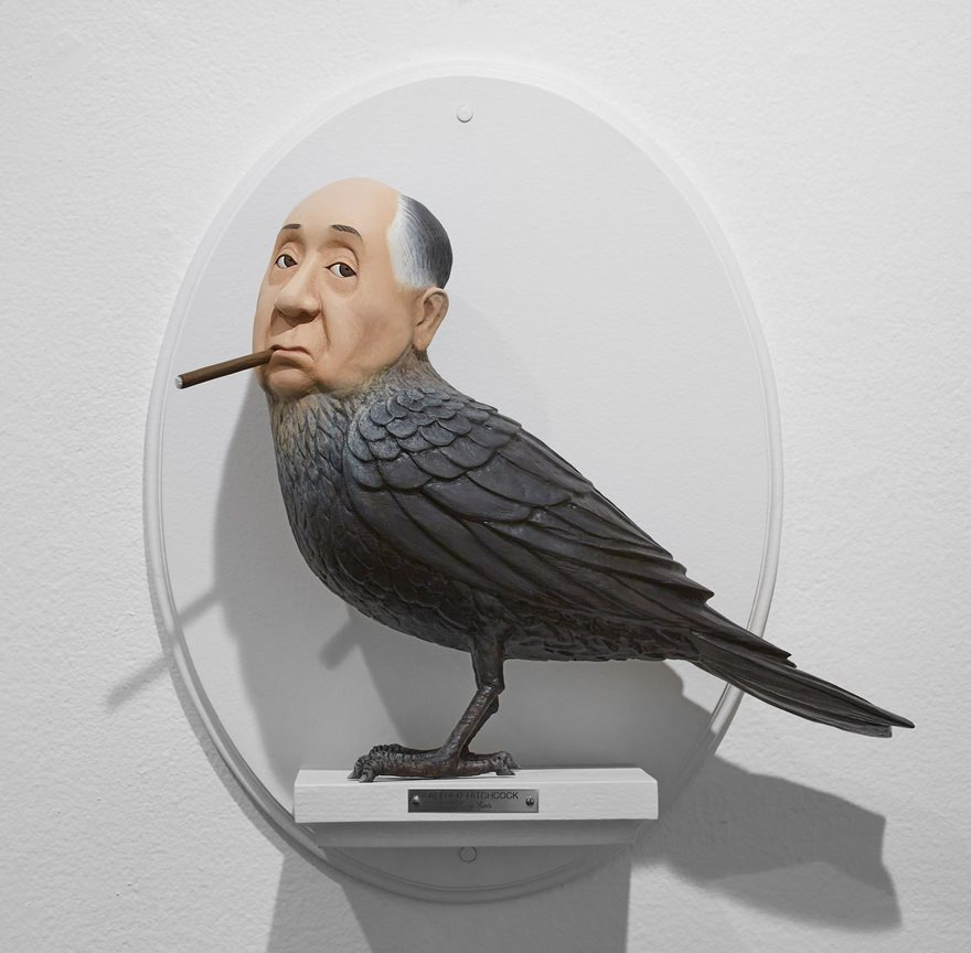 Sculptures Of Famous Film Directors Fused With Their Characters By Mike Leavitt 4