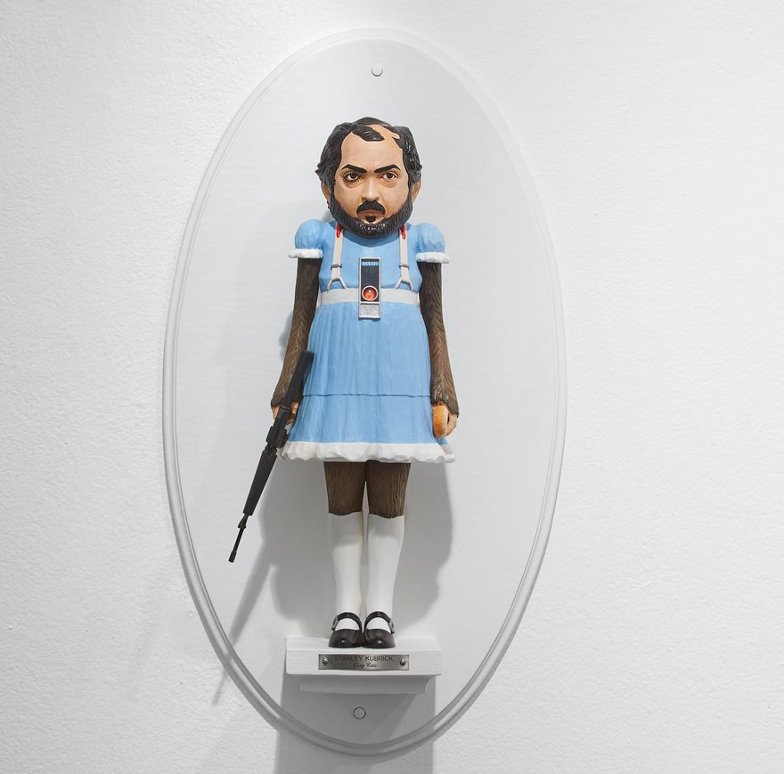 Sculptures Of Famous Film Directors Fused With Their Characters By Mike Leavitt 7