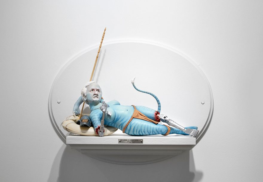 Sculptures Of Famous Film Directors Fused With Their Characters By Mike Leavitt 8