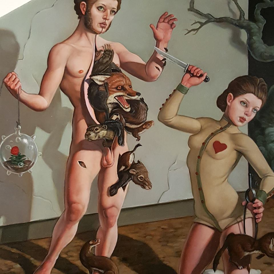 Shadows And Magic Magnificent Realism Oil Paintings By Erik Thor Sandberg 9
