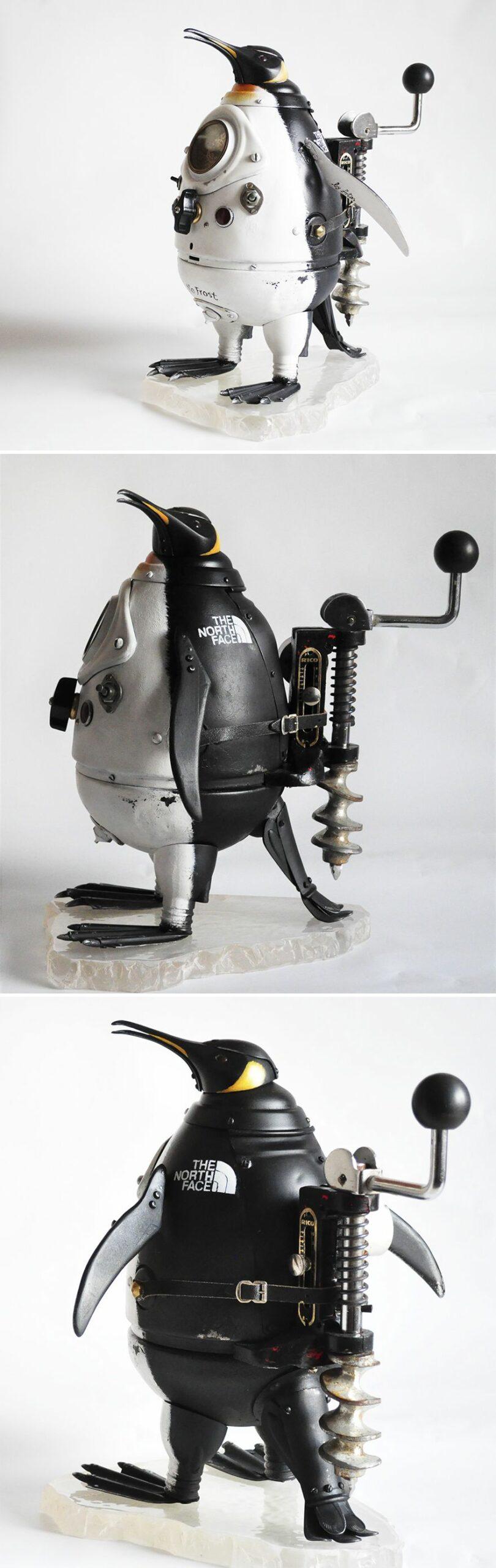 Steampunk Sculptures Made From Trash By Arturas Tamasauskas 3