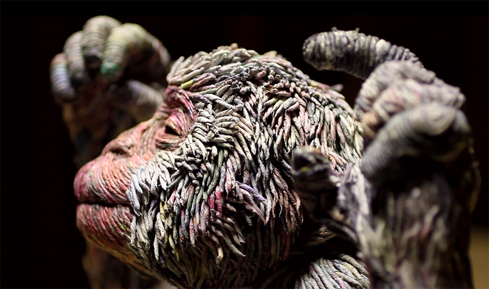 Stunning Lifelike Animal Sculptures Made From Thousands Of Densely Rolled Newspaper By Chie Hitotsuyama 1
