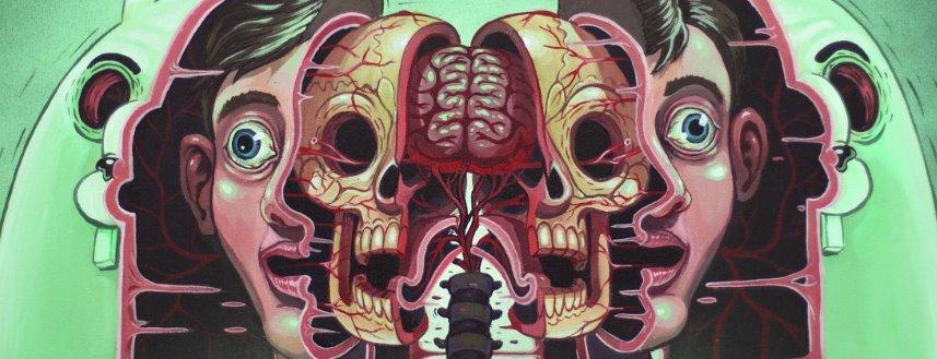 Surrealist Murals Of Anatomical Figures By Austrian Artist Nychos 10