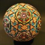 The beautifully intricate temari art of Fusako Aizawa