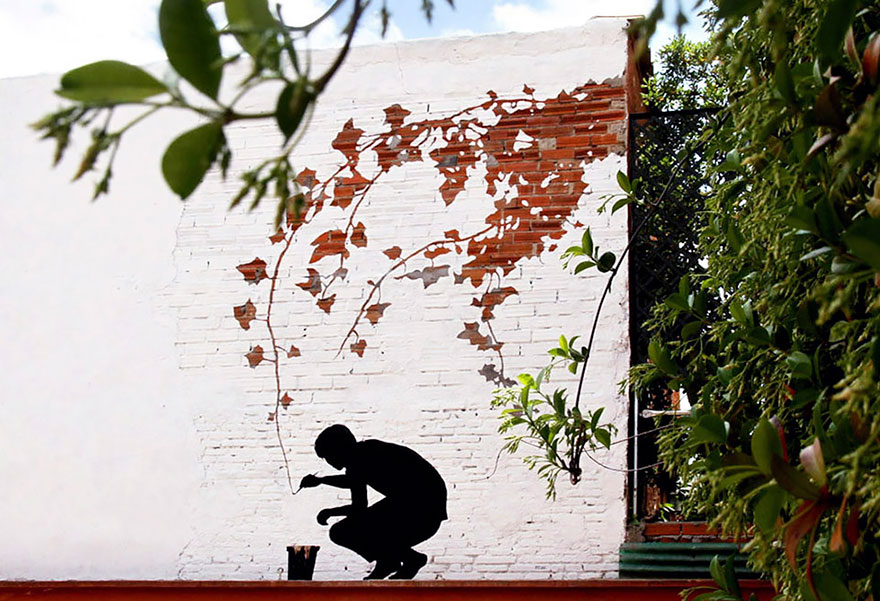The Hidden Face Of Things The Poetic Street Art Of Pejac 1