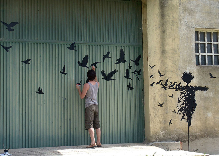 The Hidden Face Of Things The Poetic Street Art Of Pejac 4