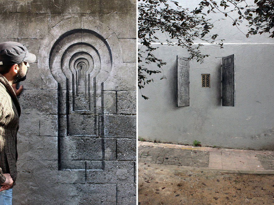 The Hidden Face Of Things The Poetic Street Art Of Pejac 5
