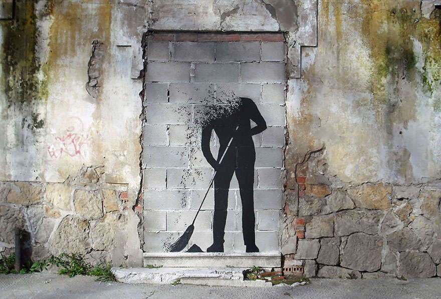 The Hidden Face Of Things The Poetic Street Art Of Pejac 8