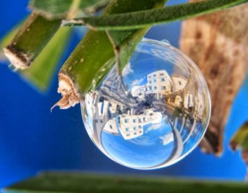 The World from the point of view of soap bubbles by Khaled Youssef