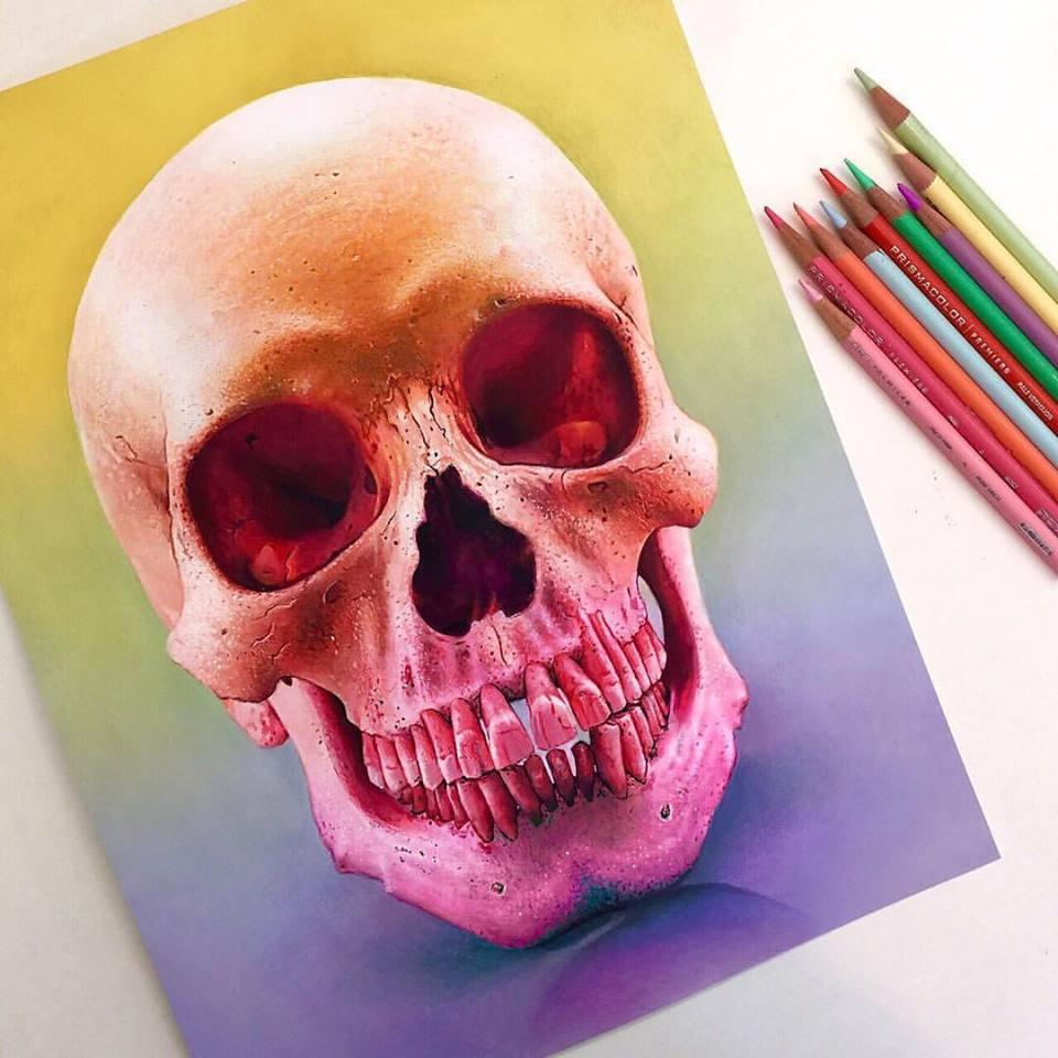 Vibrant Pencil Drawings By Morgan Davidson 1