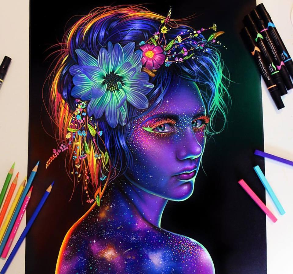 Vibrant Pencil Drawings By Morgan Davidson 3