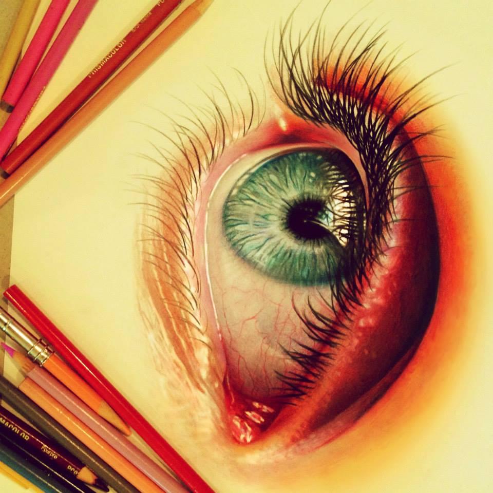 Vibrant Pencil Drawings By Morgan Davidson 6