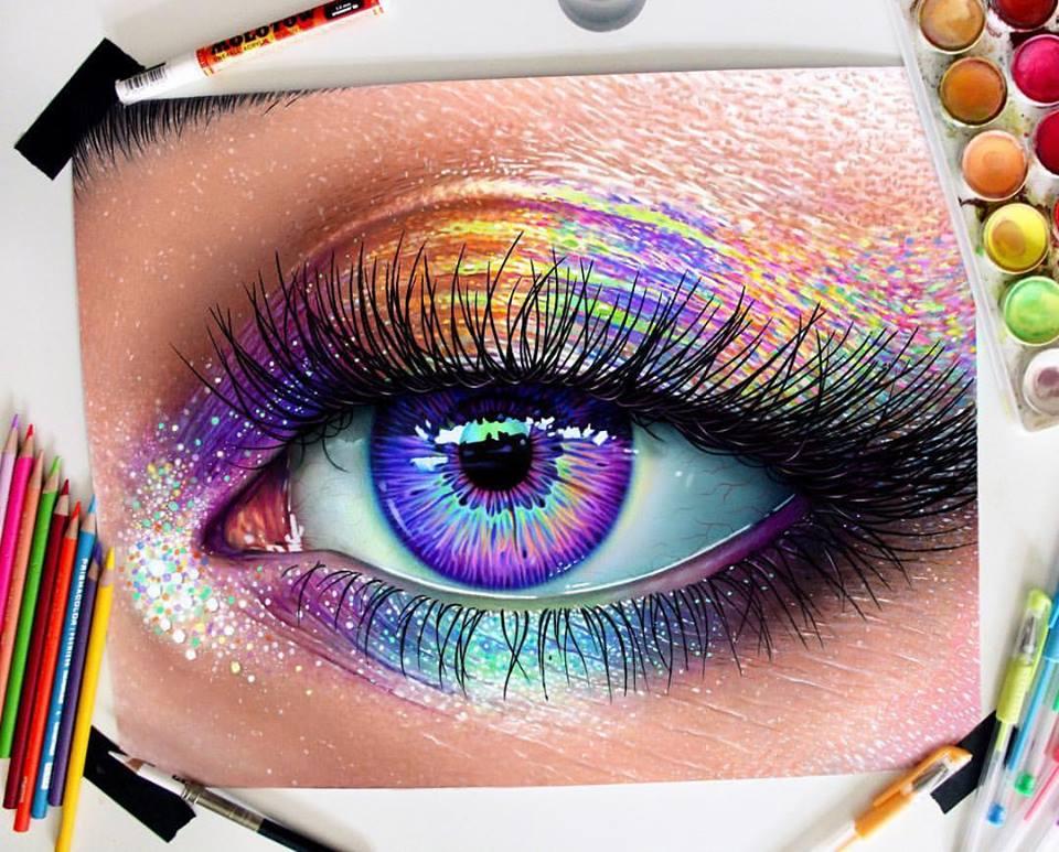 Vibrant Pencil Drawings By Morgan Davidson 8