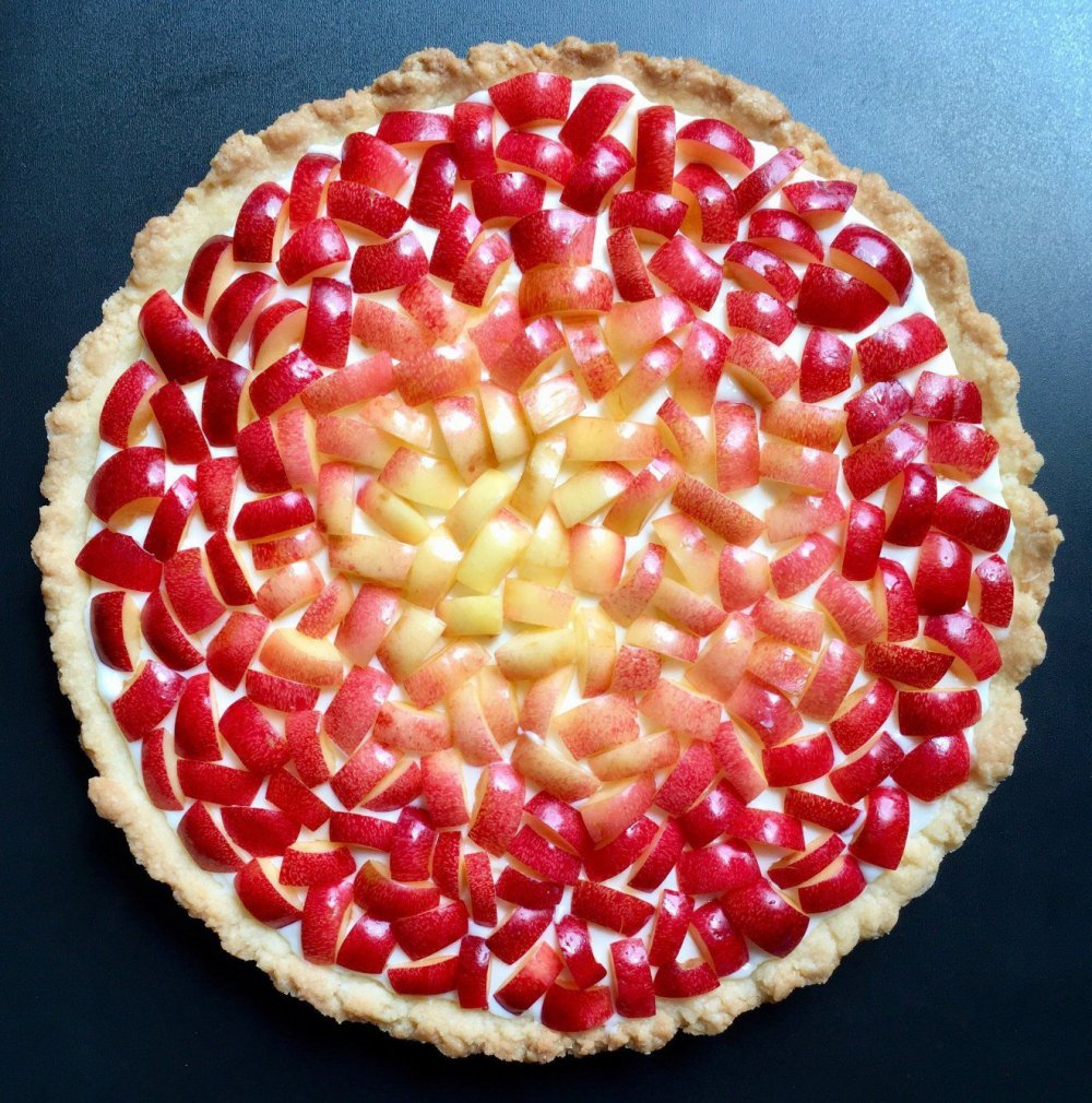 Wonderful Pies And Tarts Decorated With Geometric And Colorful Details By Lauren Ko 1