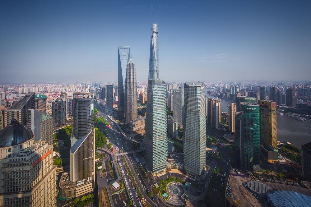 Amazing Cityscape Photograph Series Of Shanghai By Michael Shainblum 1