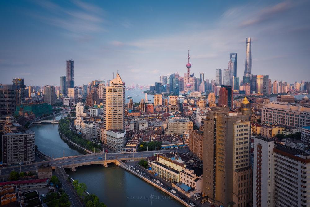 Amazing Cityscape Photograph Series Of Shanghai By Michael Shainblum 3