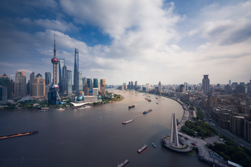 Amazing Cityscape Photograph Series Of Shanghai By Michael Shainblum 4