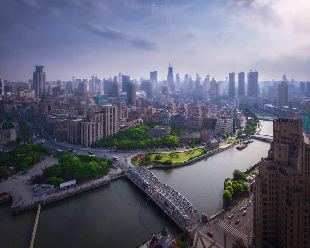 Amazing Cityscape Photograph Series Of Shanghai By Michael Shainblum 5