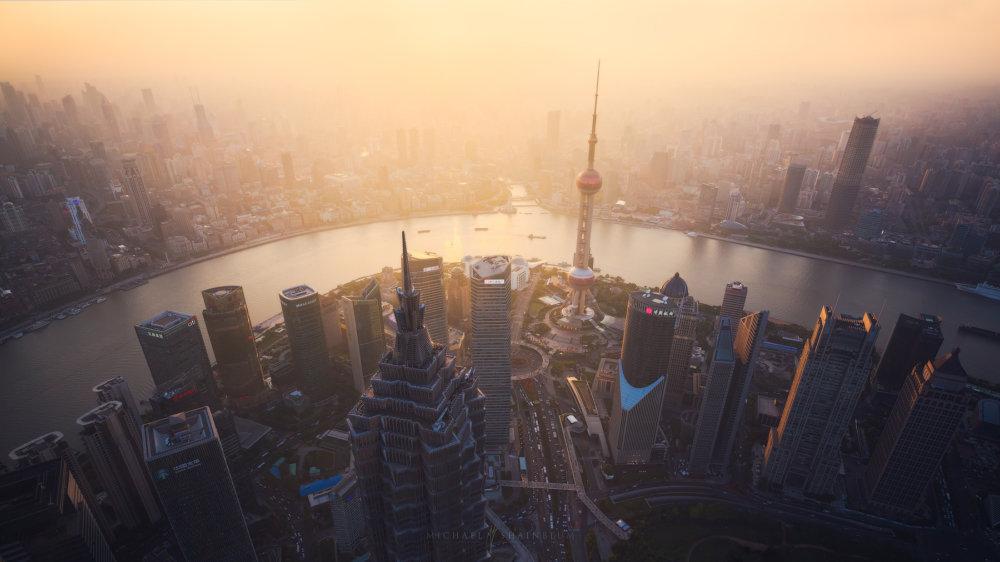 Amazing Cityscape Photograph Series Of Shanghai By Michael Shainblum 6