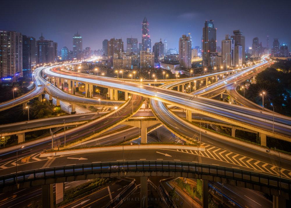 Amazing Cityscape Photograph Series Of Shanghai By Michael Shainblum 8
