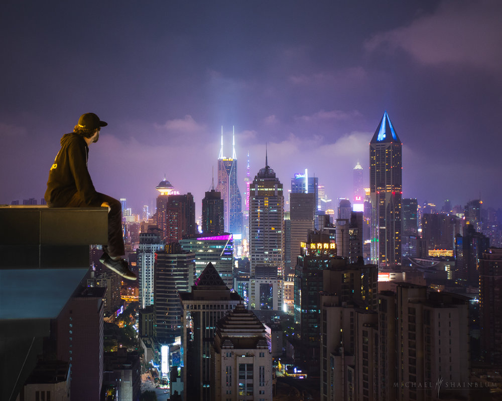 Amazing Cityscape Photograph Series Of Shanghai By Michael Shainblum 9