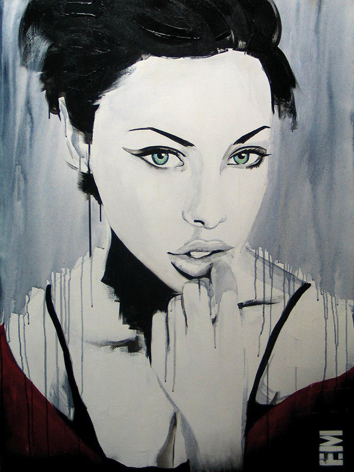 Beautiful Imperfection Charming Female Portrait Paintings By Emma Sheldrake 5