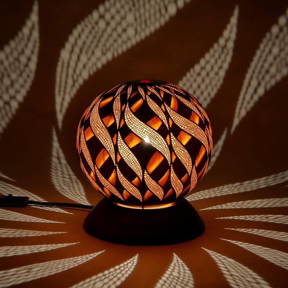 Calabarte Superb Calabash Sculptures That Are Also Lamps Designed By Przemek Krawczynski 10