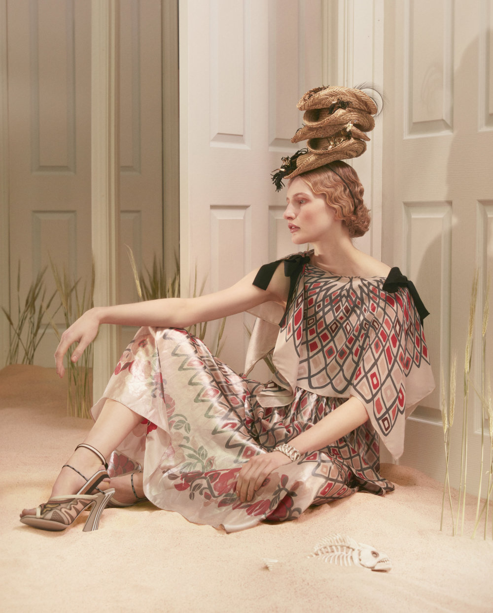 Dorothea Tanning A Fashion And Beauty Photograph Series By Sandrine And Michael 5