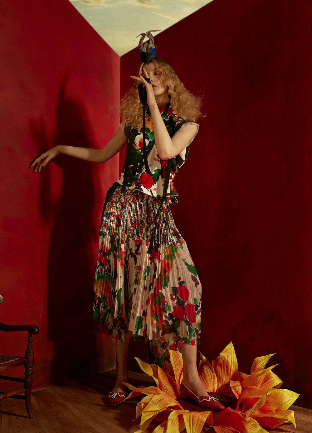 Dorothea Tanning A Fashion And Beauty Photograph Series By Sandrine And Michael 9