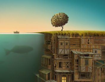 Dreamlike landscapes: awesome surrealist illustrations by Gediminas Pranckevicius