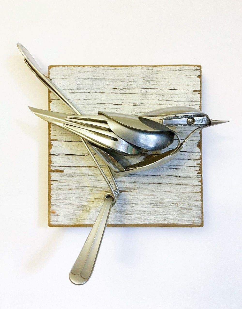 Incredible Silverware Animal Sculptures By Matt Wilson 1