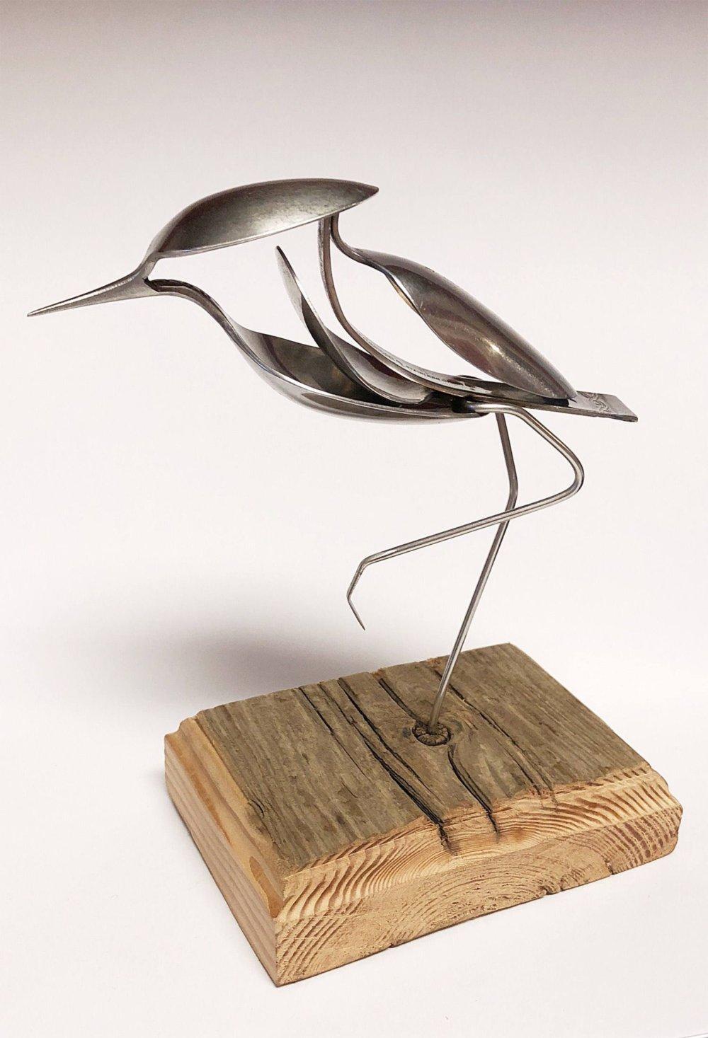 Incredible Silverware Animal Sculptures By Matt Wilson 2