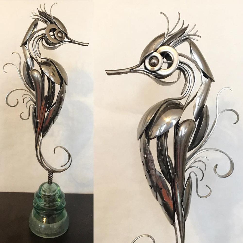 Incredible Silverware Animal Sculptures By Matt Wilson 9