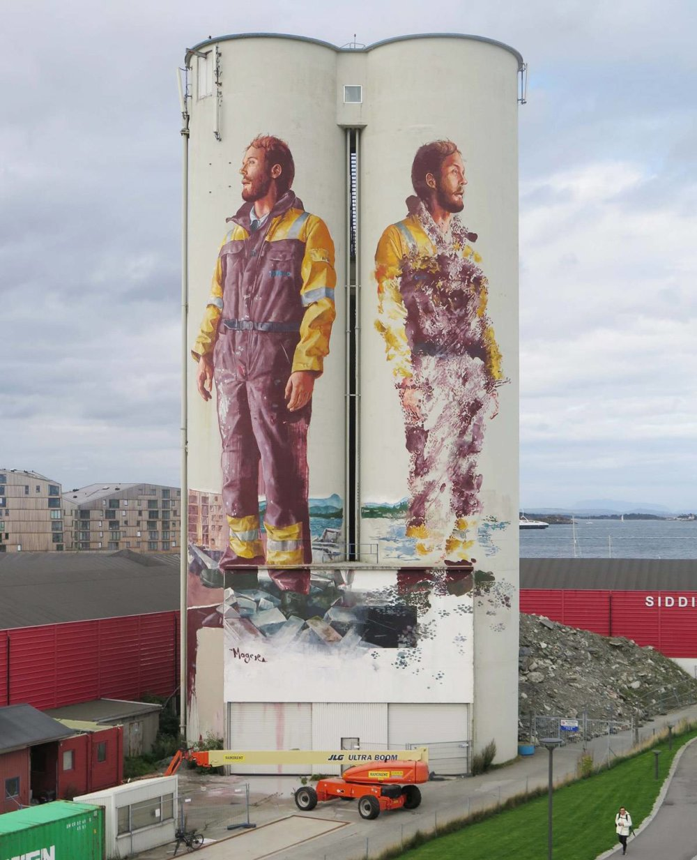 Magnificent Giant Photo Realistic Murals That Portray Political And Social Issues By Fintan Magee 10