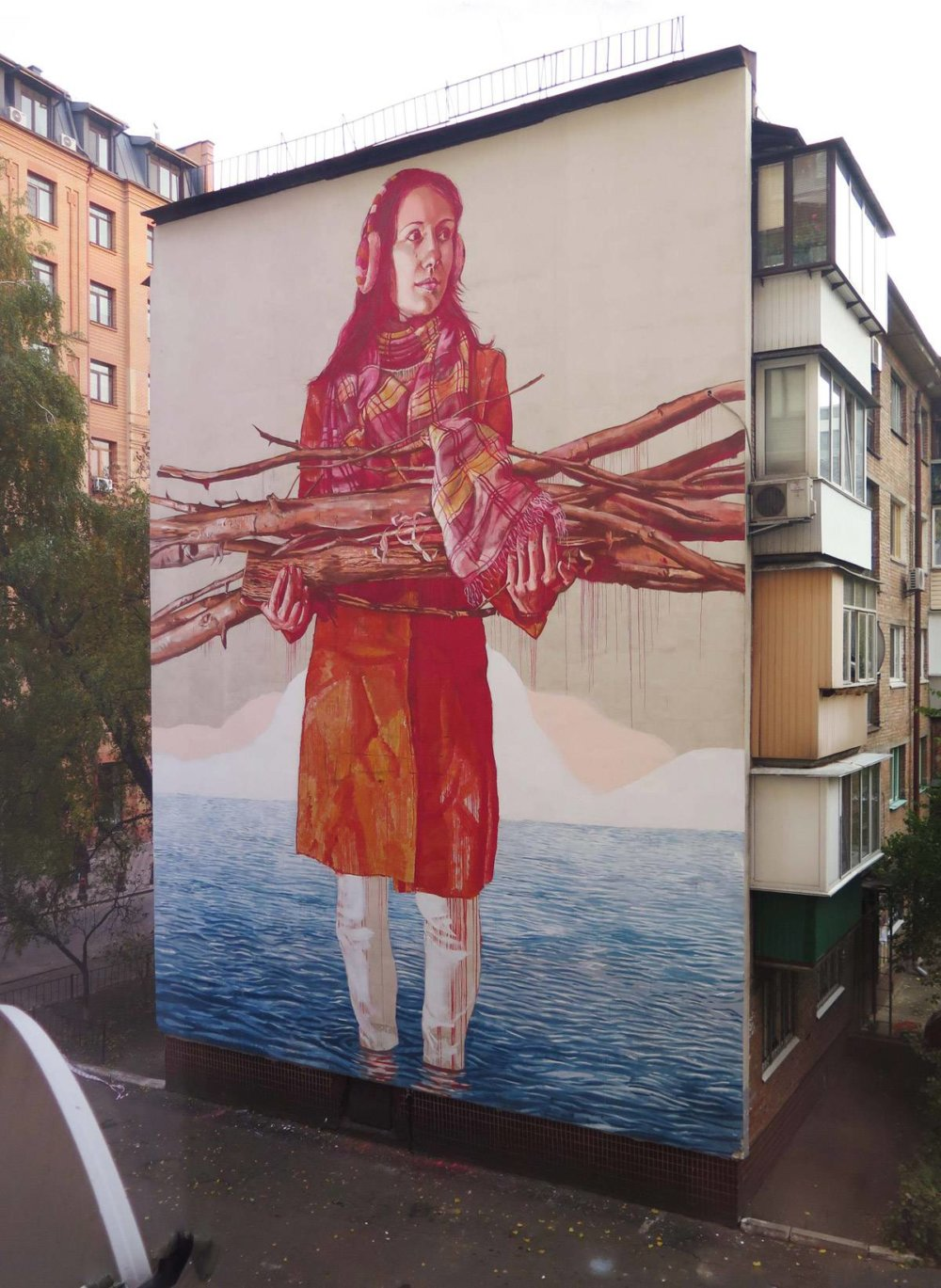 Magnificent Giant Photo Realistic Murals That Portray Political And Social Issues By Fintan Magee 2