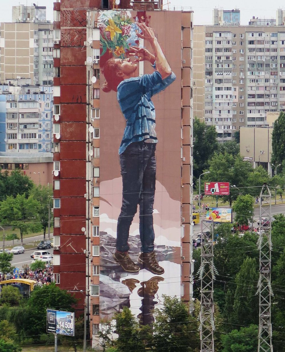 Magnificent Giant Photo Realistic Murals That Portray Political And Social Issues By Fintan Magee 3