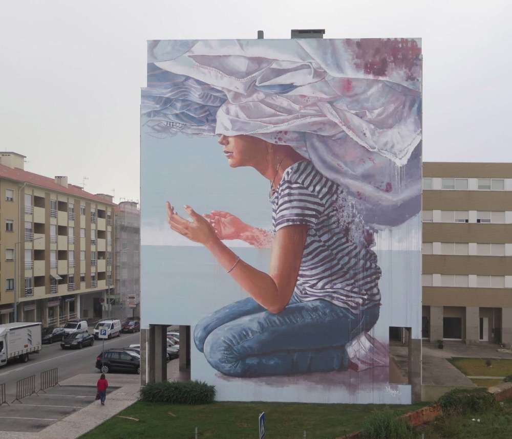 Magnificent Giant Photo Realistic Murals That Portray Political And Social Issues By Fintan Magee 4
