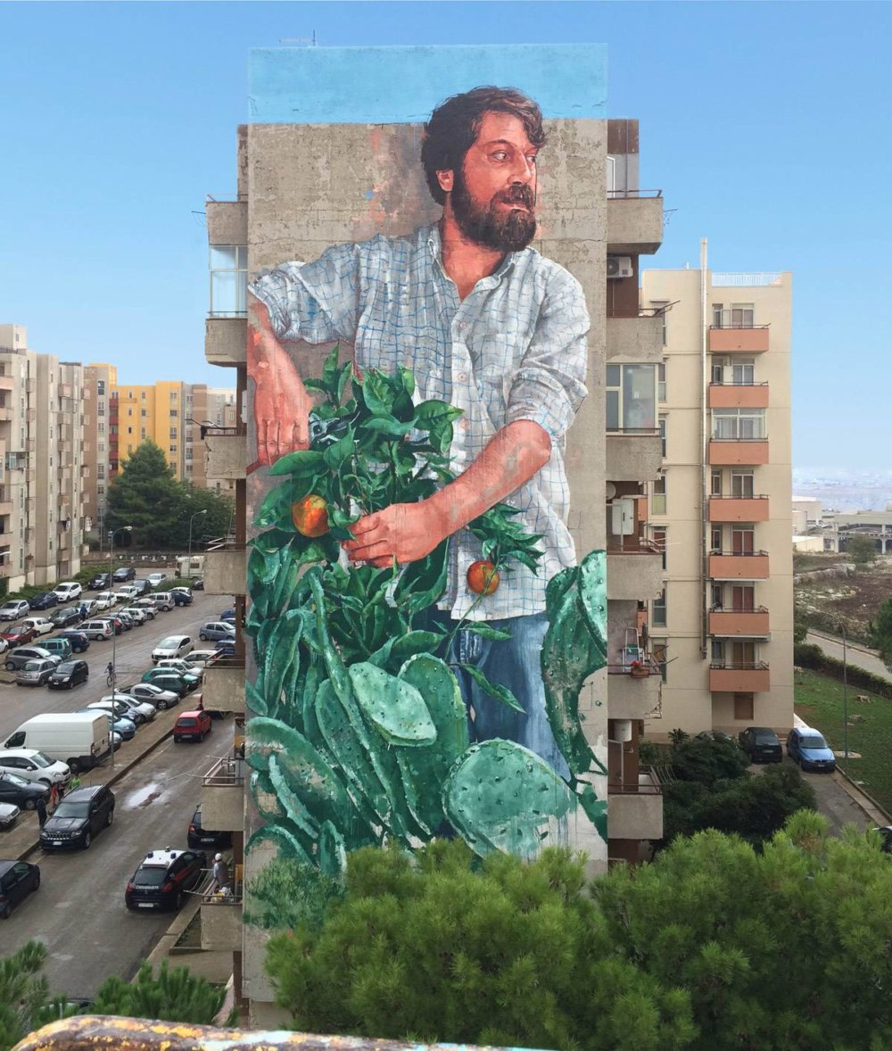 Magnificent Giant Photo Realistic Murals That Portray Political And Social Issues By Fintan Magee 8