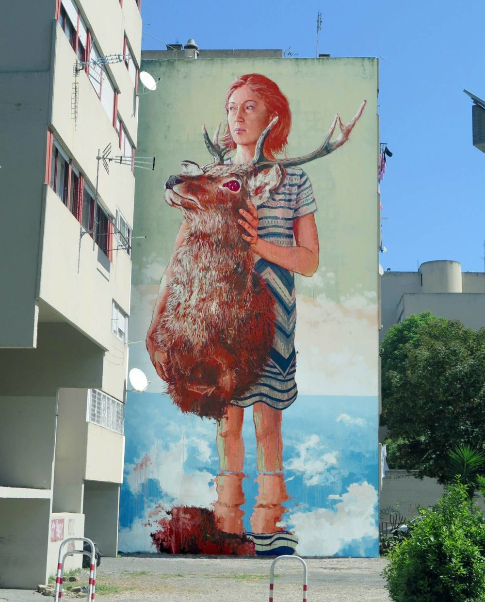 Magnificent Giant Photo Realistic Murals That Portray Political And Social Issues By Fintan Magee 9