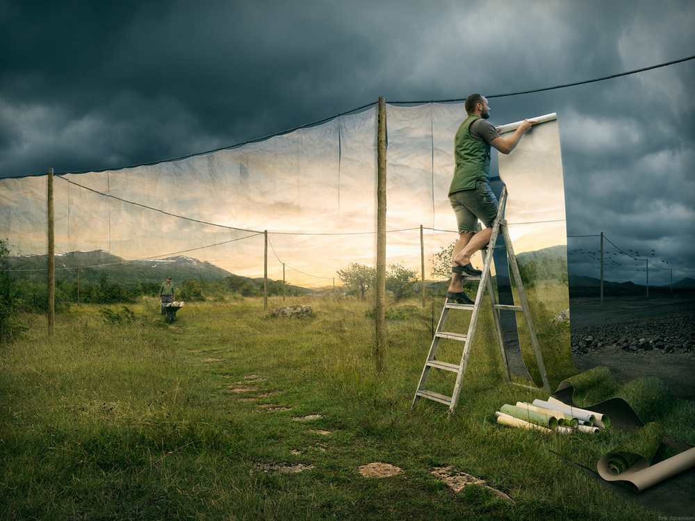 Sweet daydream: the striking and clever surrealist photography of Erik Johansson