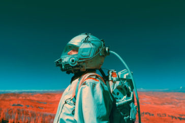 """""""The Spectral Divide"""": space exploration-themed photograph series by Mako Miyamoto"""