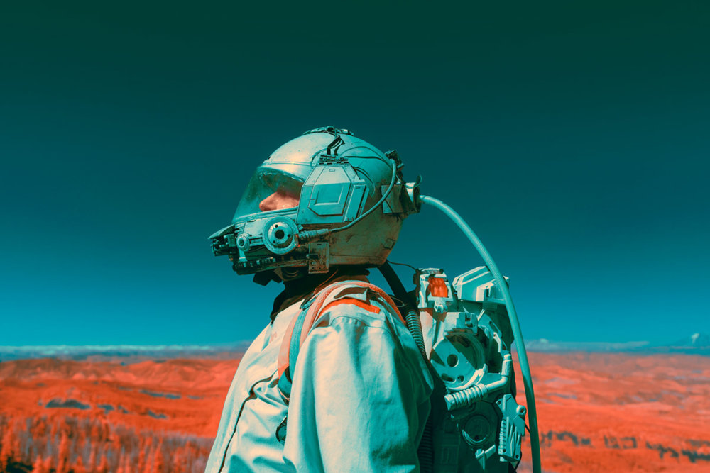 The Spectral Divide Space Exploration Themed Photograph Series By Mako Miyamoto 1