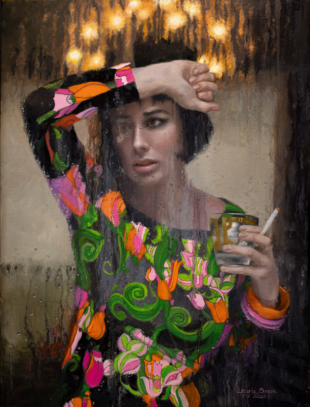 Wonderful Portraits Inspired By Charlestons Folk Tales Painted By Laurie Lee Brom 4