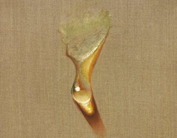 Impressive hyper-realistic paintings of gleaming water drops by Kim Tschang-Yeul