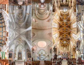 """Vertical Churches"": an ethereal architecture photography series by Richard Silver"